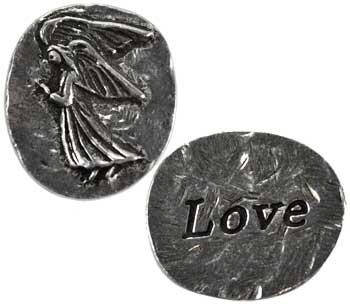 Love Angel pocket stone