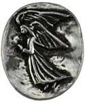 Angel pocket stone