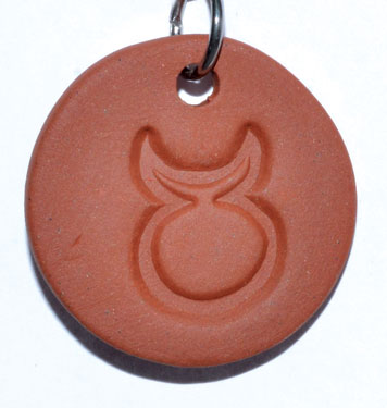 "1 1/4"" Horned God diffuser amulet"