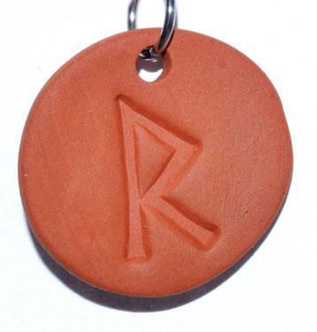 """1 1/4"""" Raido diffuser amulet"""