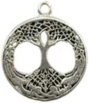 Tree of Life Above & Below amulet