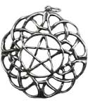 World Weave Pentagram amulet