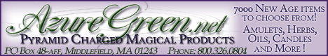 Pyramid Charged Magical Products from AzureGreen