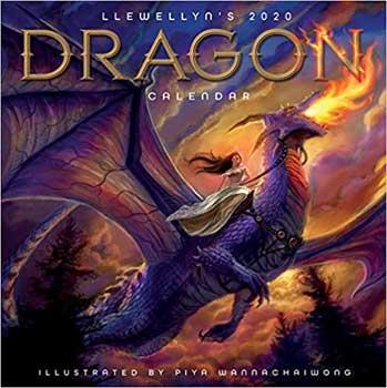 2020 Dragon Calendar by Llewellyn