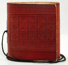 Mini Pocket Leather  Blank Book