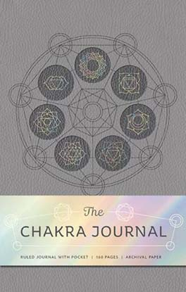 Seven Chakras journal lined