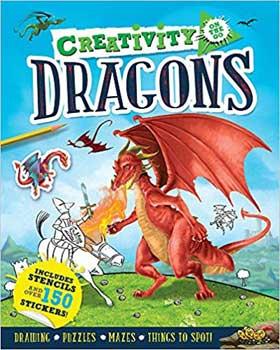 Creativity Dragons, on the go - Azuregreen