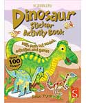 Dinosaur sticker activity book by Adam Pryce