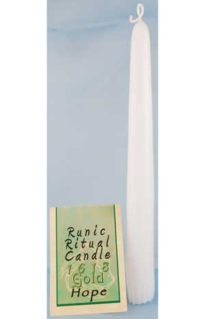 AzureGreen Hope Runic Ritual Candle at Sears.com
