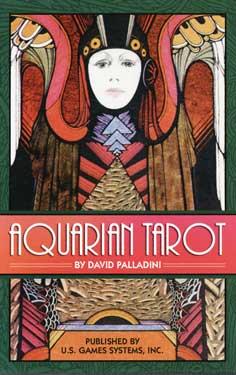 Aquarian Tarot by Palladini, David-