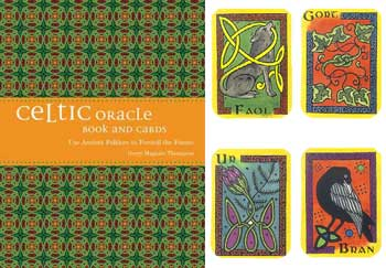 Celtic oracle book & cards by Gerry Maguire Thompson
