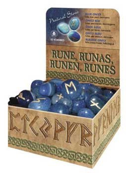 Blue Quartz Rune set by Lo Scarabeo