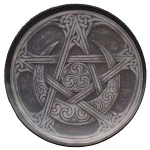 Moon Pentagram Magnet