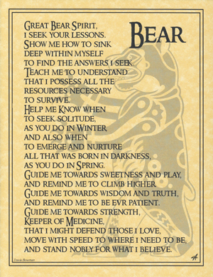 Bear Prayer poster