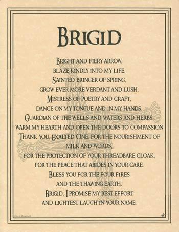 Brigid poster