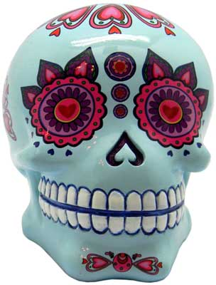 Blue Day of the Dead bank 4