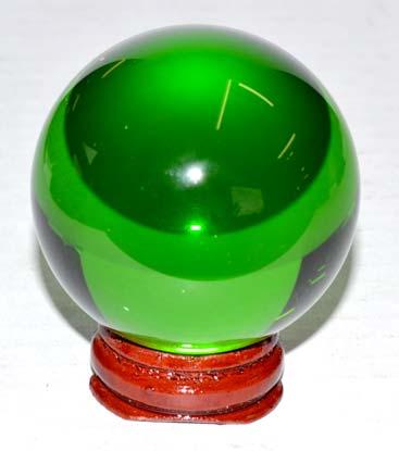 50mm Green gazing ball