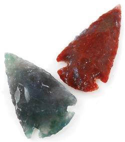 """Arrowhead 1""""- 2 1/4"""" stone"""