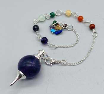 Various 7 Chakra ball pendulum
