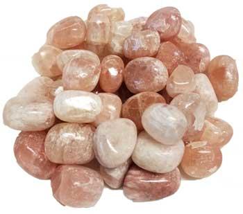 1 lb Red Calcite tumbled stones