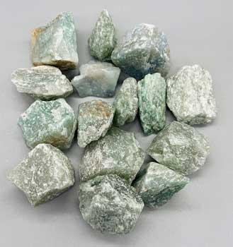 1 lb Aventurine, Green untumbled stones