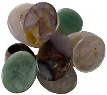 various worry stone