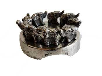 """4 3/4"""" Elephant burner"""