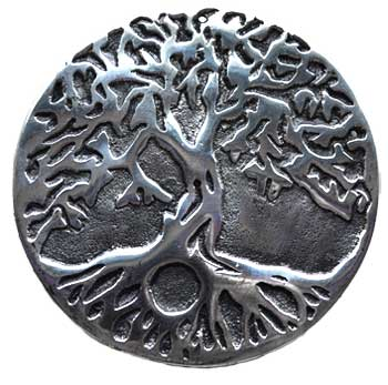 "4 3/4"" Tree of Life ash catcher"