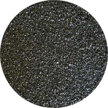 1 Lb Black incense burner sand
