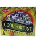 Good Fortune HEM cone 10 pack