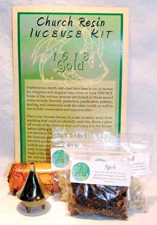 Church Resin incense Kit