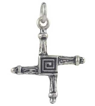 Bridget's Cross sterling silver