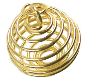 "1"" Gold Plated coil"