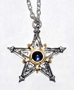 "1 1/2"" Medieval Pentagram"