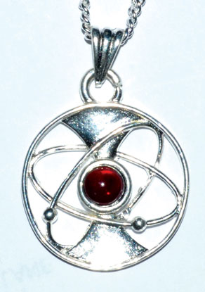 """1 1/8"""" Energy Chakra with pouch"""