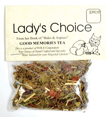 Good Memory tea (5+ cups)