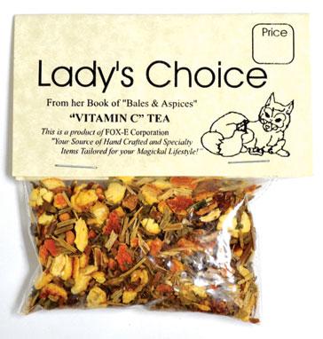 Vitamin C tea (5+ cups)