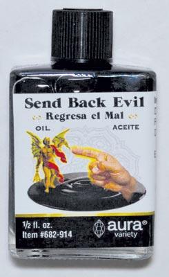Send Back Evil oil 4 dram