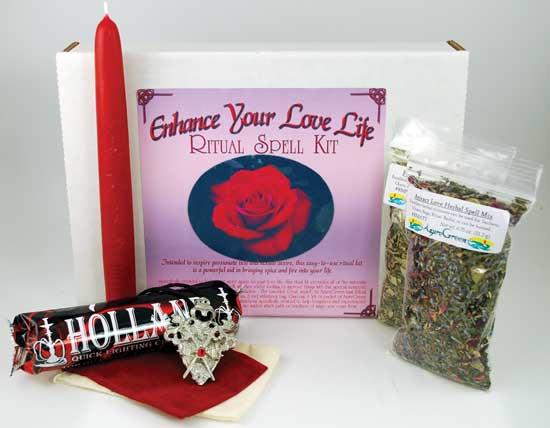 Enhance Your Love Life Boxed ritual kit
