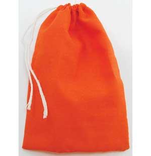 Orange Cotton Bag 3