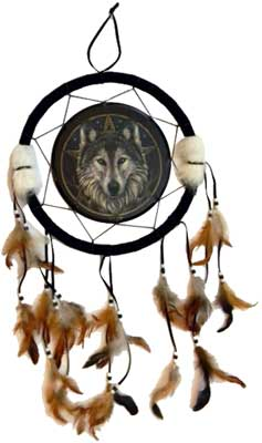 Wolf dream catcher 13