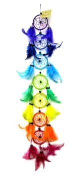 3' Chakra dream catcher