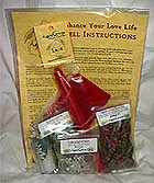 Enhance Your Love Life Ritual Kit, AzureGreen
