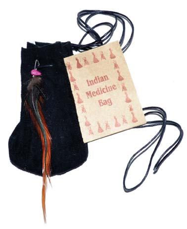 "3"" Medicine Dream bag Black"