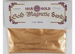 Gold Magnetic Sand (Lodestone Food) 1oz
