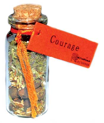 Courage pocket spellbottle