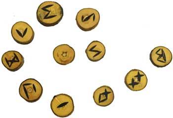 Wood rune set