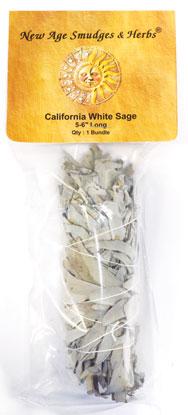 White Sage smudge stick 5-6 inches