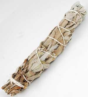 "White Sage smudge stick 5-6"""