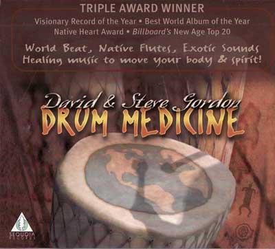 CD: Drum Medicine by Gordon & Gordon